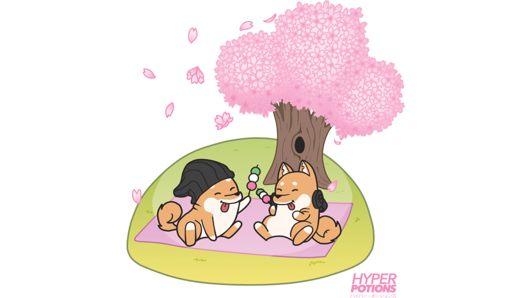 Design by Humans: Cherry Blossoms
