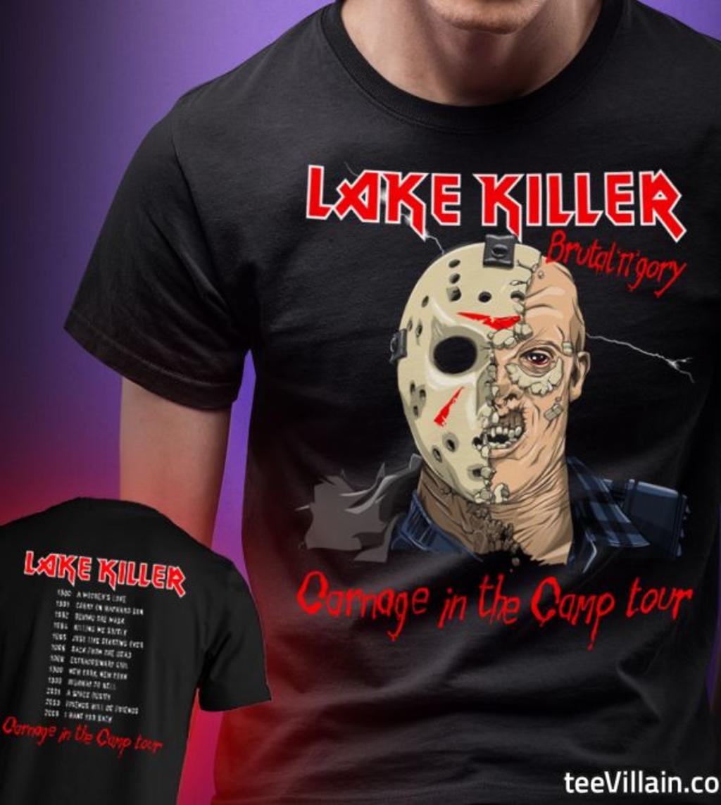 teeVillain: Lake Killer