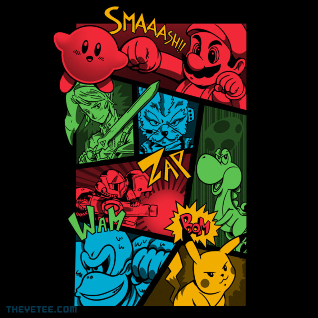 The Yetee: Smash64