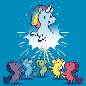 TeeTurtle: Captain Unicorn