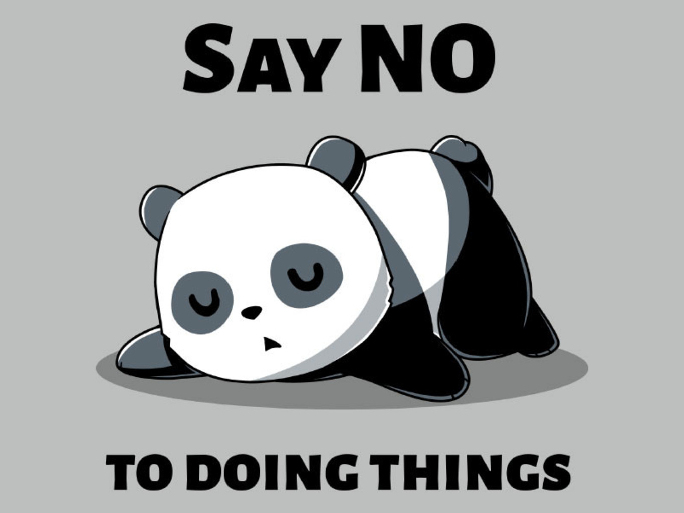 TeeTurtle: Say No To Doing Things