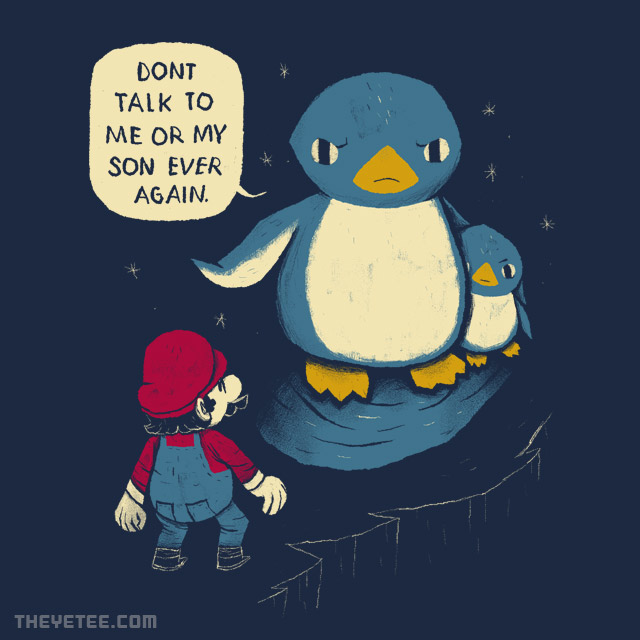 The Yetee: dont talk to my son