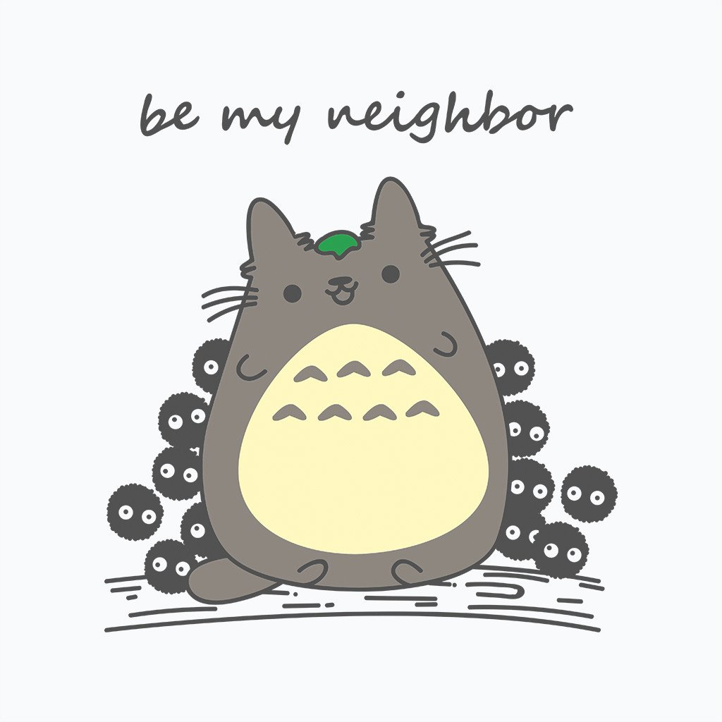 Pop-Up Tee: Be My Neighbor