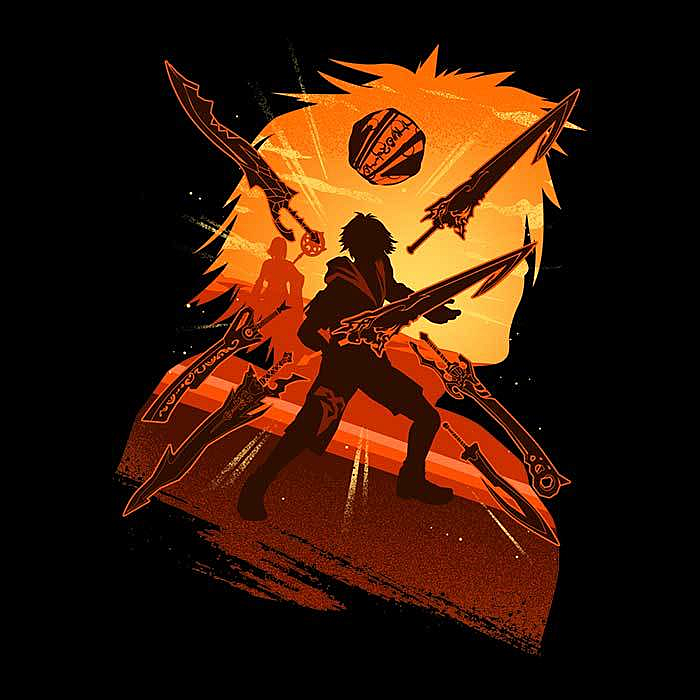 Once Upon a Tee: Attack of Tidus