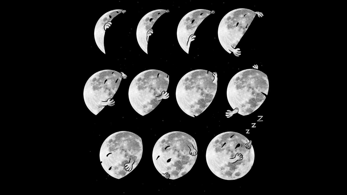 Design by Humans: Lunar Phases of Sleep