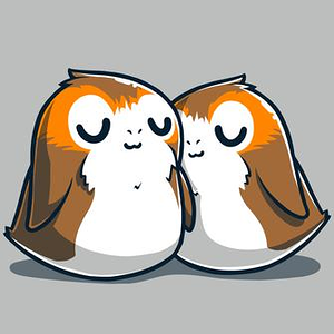 TeeTurtle: Sleepy Porgs