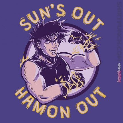 ShirtPunch: Sun's out Hamon Out