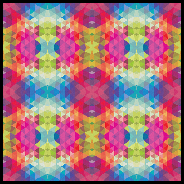 NeatoShop: Geometric Fractal Kaleidoscope Rainbow