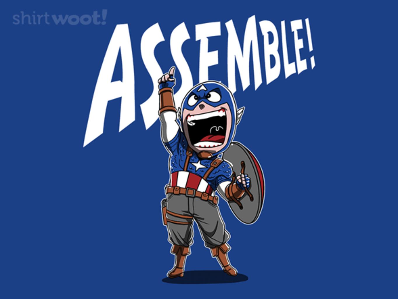 Woot!: Assemble