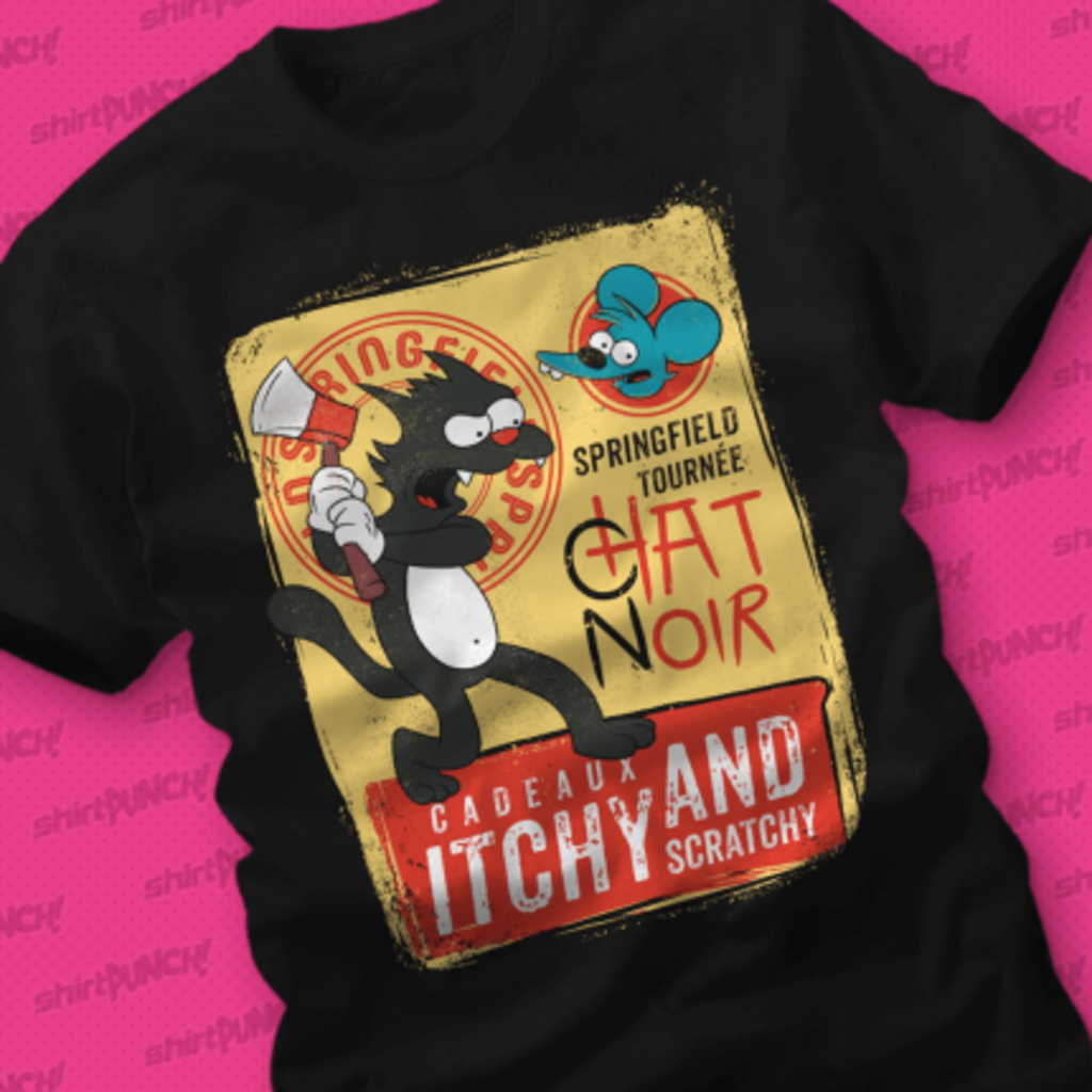 ShirtPunch: Le Chat Noir