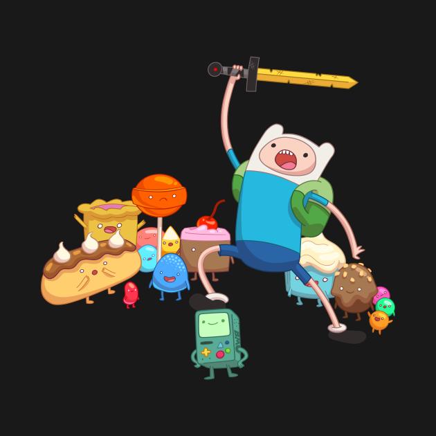 TeePublic: Adventure Time