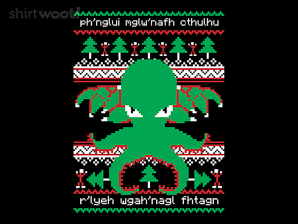 Woot!: Cthulhu Cultist Christmas