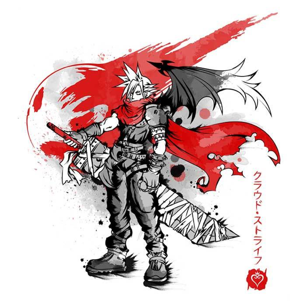 Once Upon a Tee: Ex-Soldier Kingdom Sumi-e