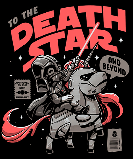 Qwertee: To the Death Star