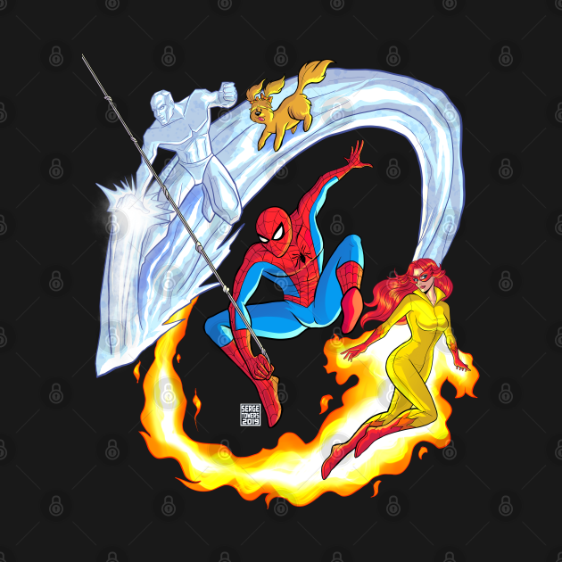 TeePublic: Spider-Man And his Amazing Friends