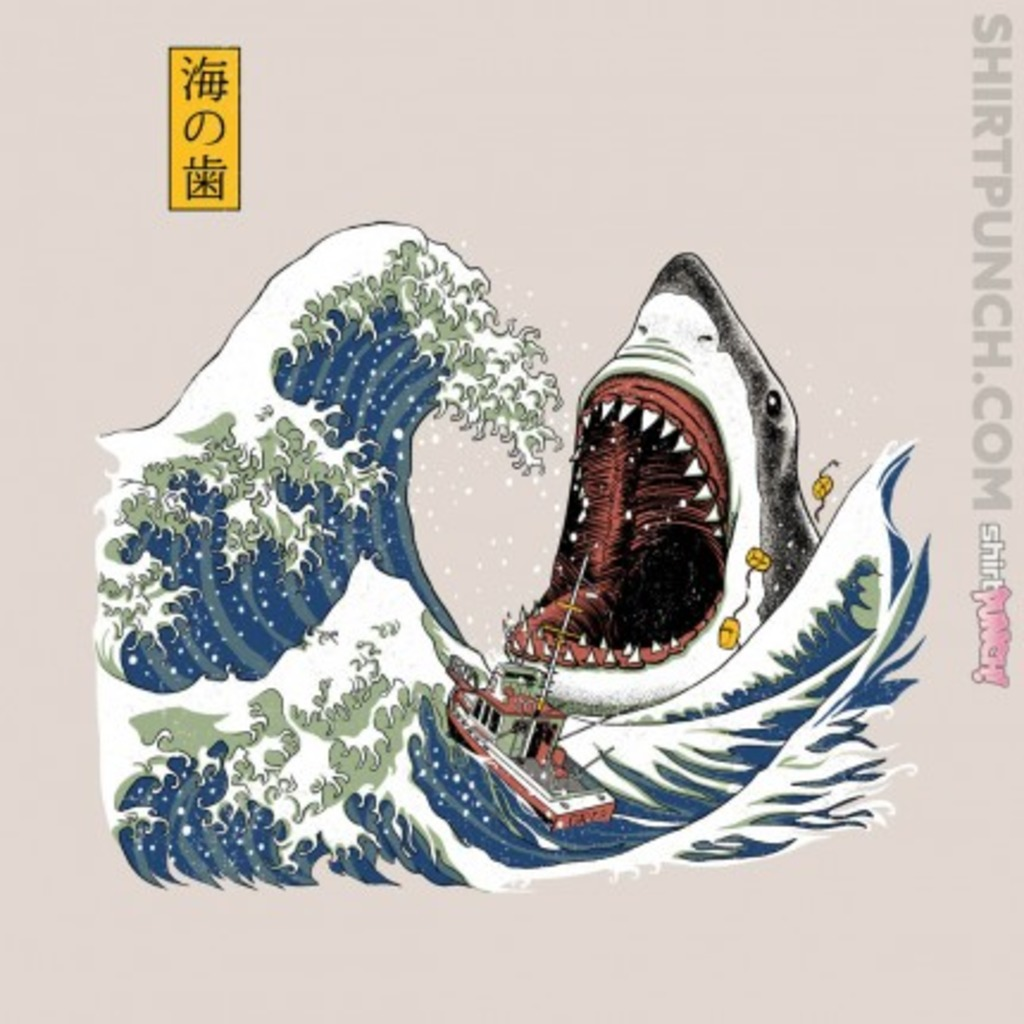 ShirtPunch: The Great White Off Amity