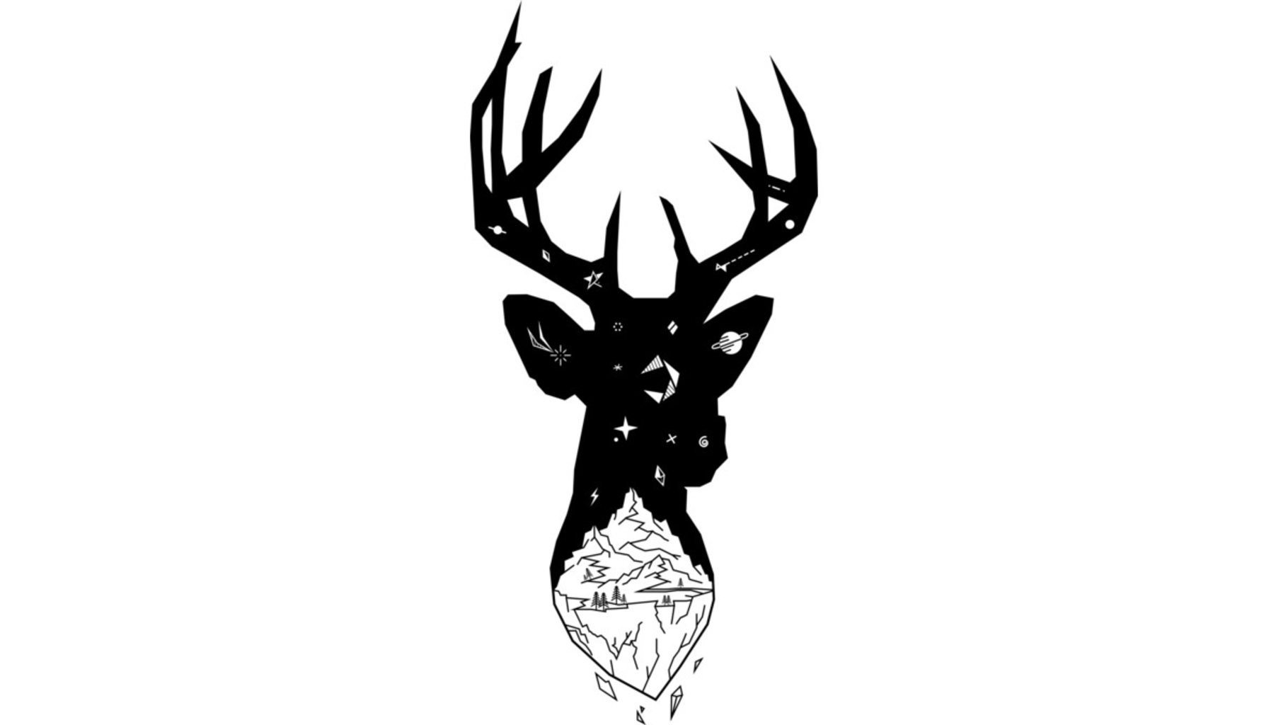 Design by Humans: Mountain Stag
