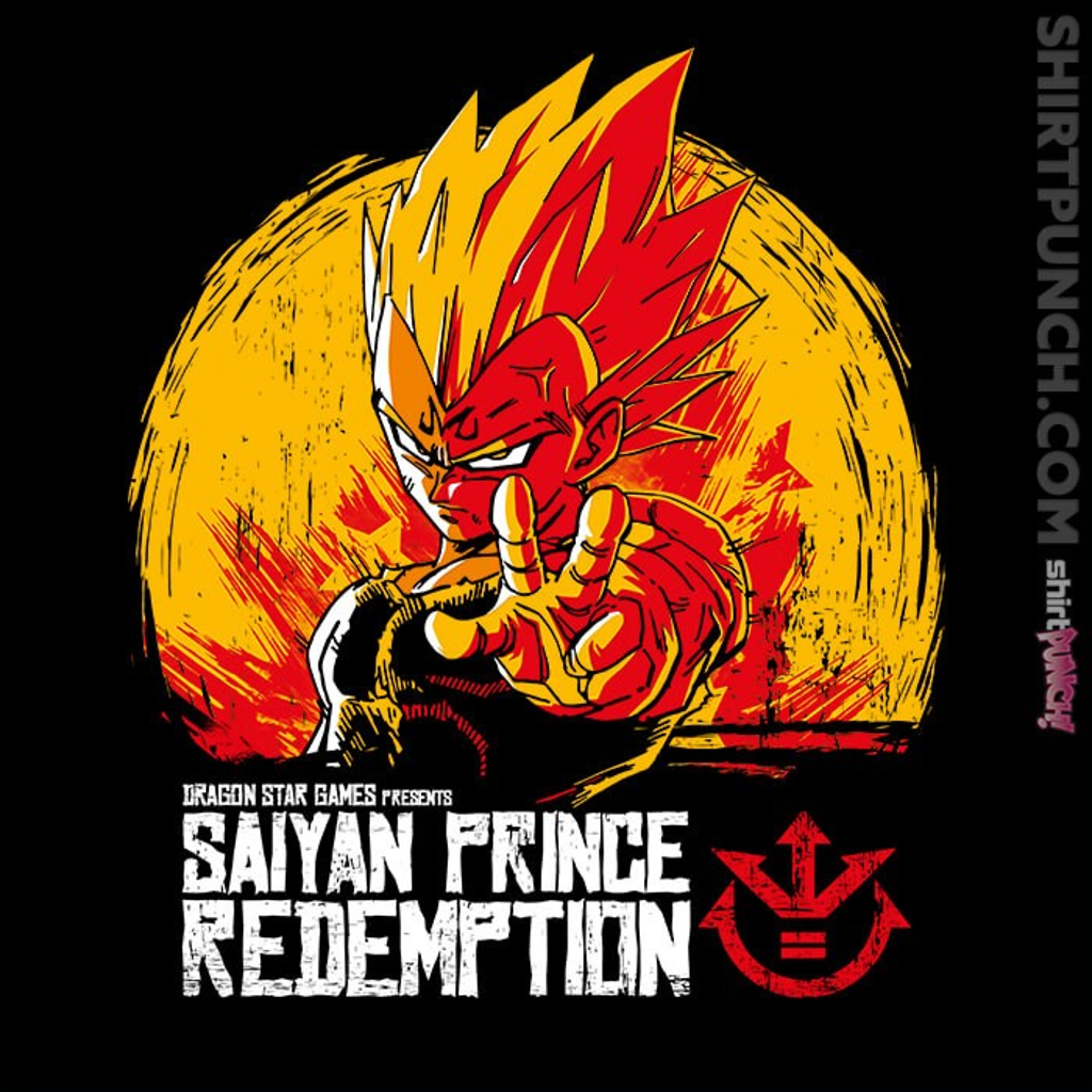 ShirtPunch: Saiyan Prince Redemption