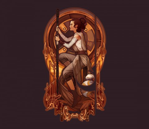 TeeFury: The Light Will Guide You