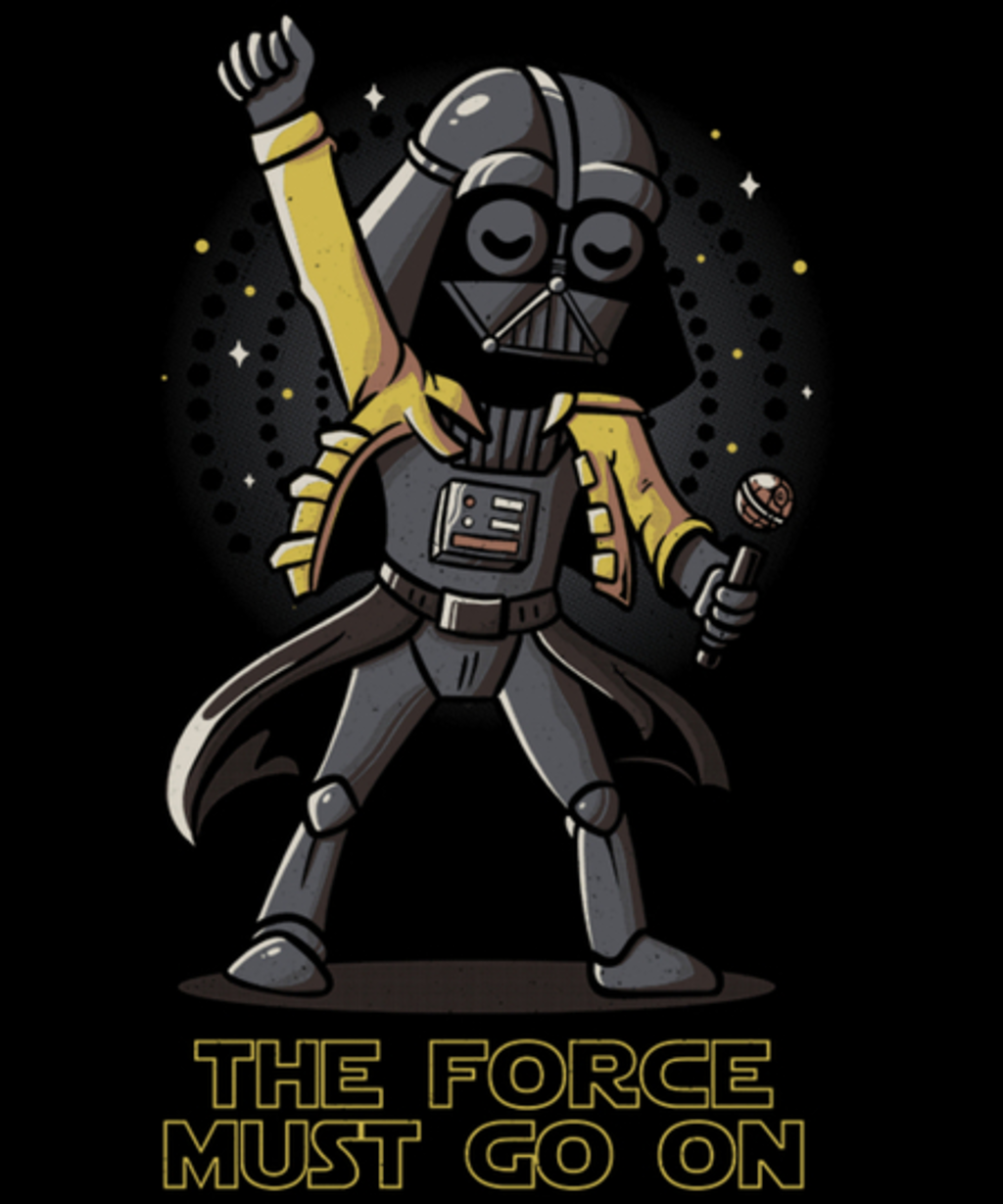 Qwertee: The Force Must Go On