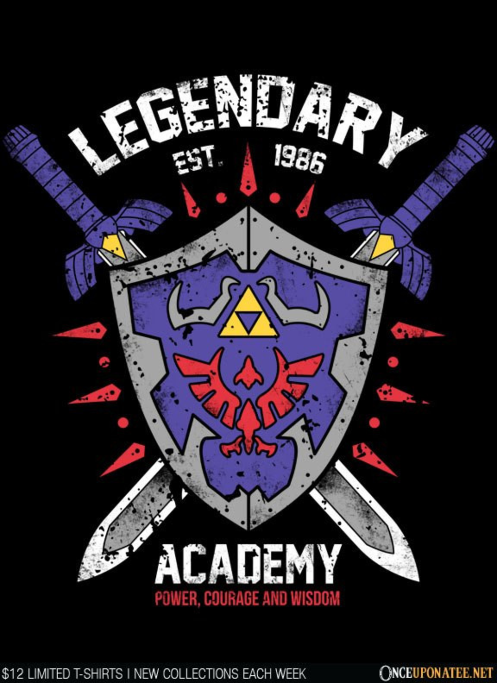 Once Upon a Tee: Legendary Academy