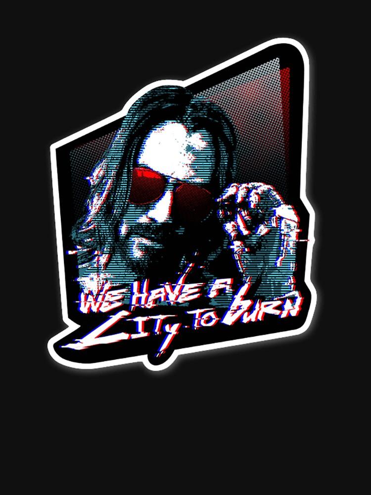 RedBubble: Cyber Johnny Silverhand