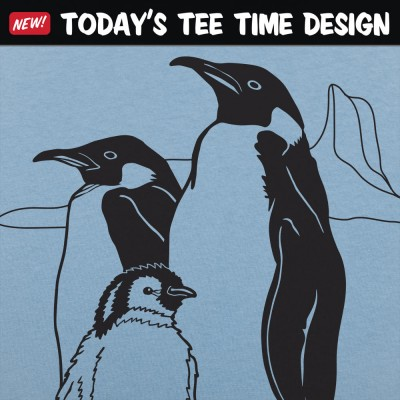 6 Dollar Shirts: Penguin Family
