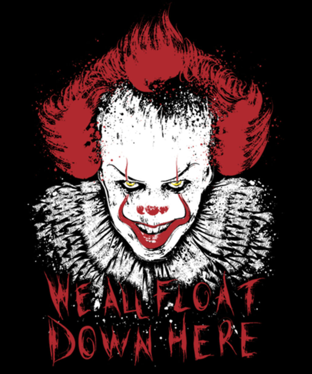 Qwertee: We all float down here