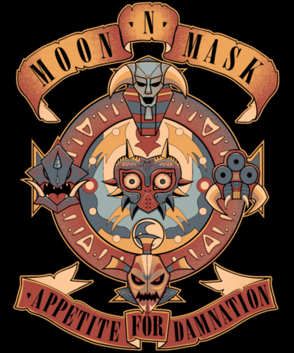 Qwertee: Appetite for Damnation