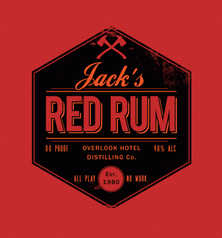 BustedTees: Jack's Red Rum