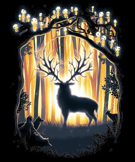 Qwertee: Deer God
