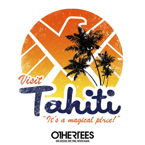 OtherTees: Visit Tahiti