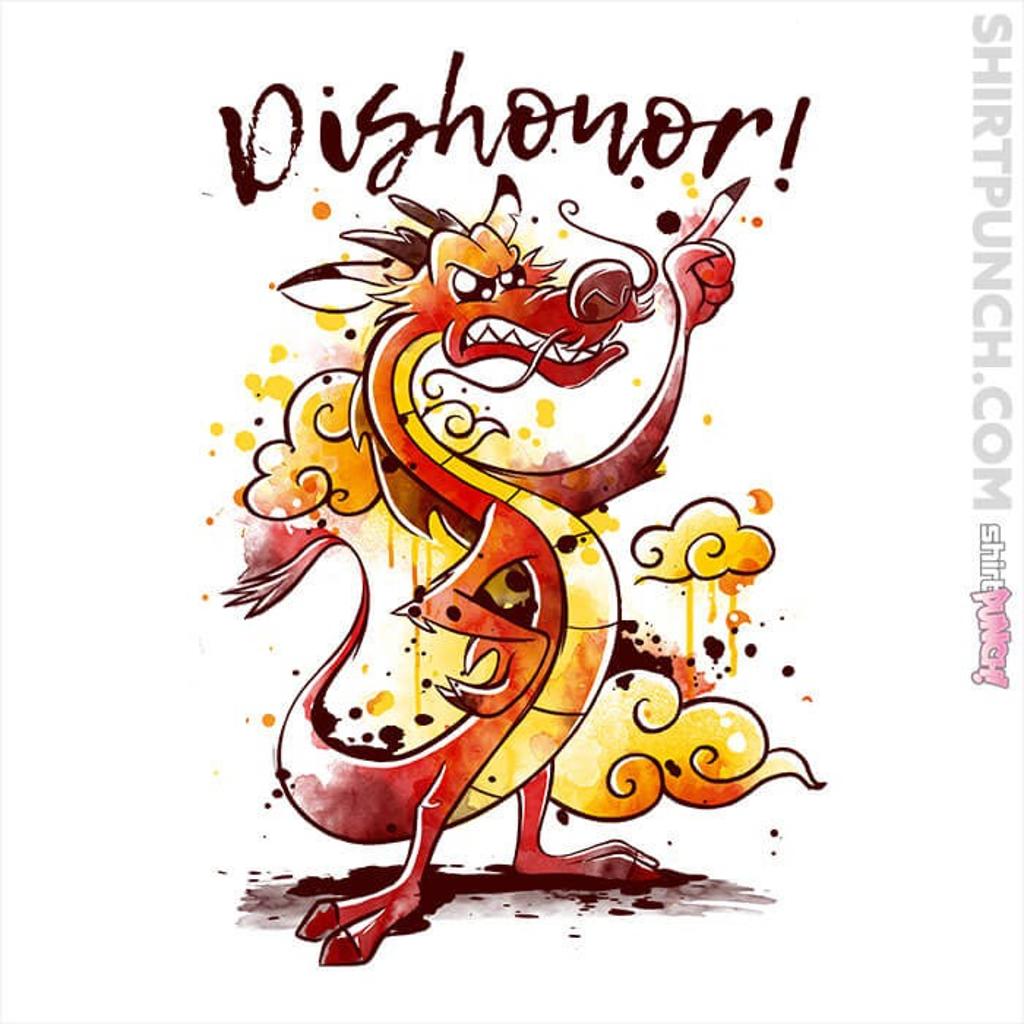 ShirtPunch: Dishonor