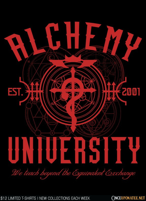 Once Upon a Tee: Alchemy University