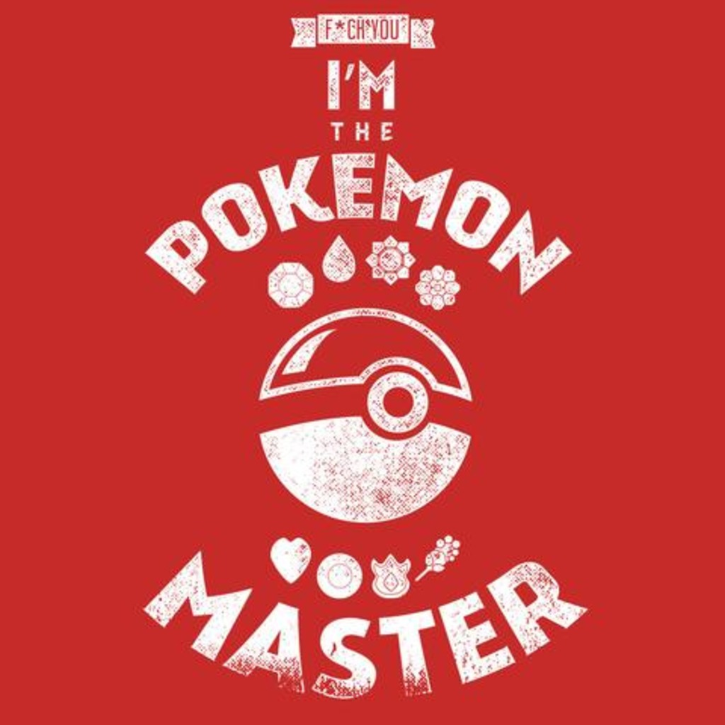 FandomShirts: Pokemon Master