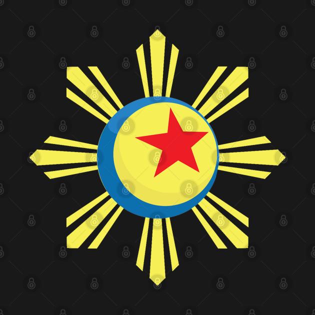 TeePublic: Filipino Heritage Luxo Ball & Sun