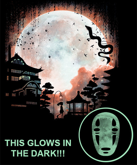 Qwertee: Thermal Moon-Glow