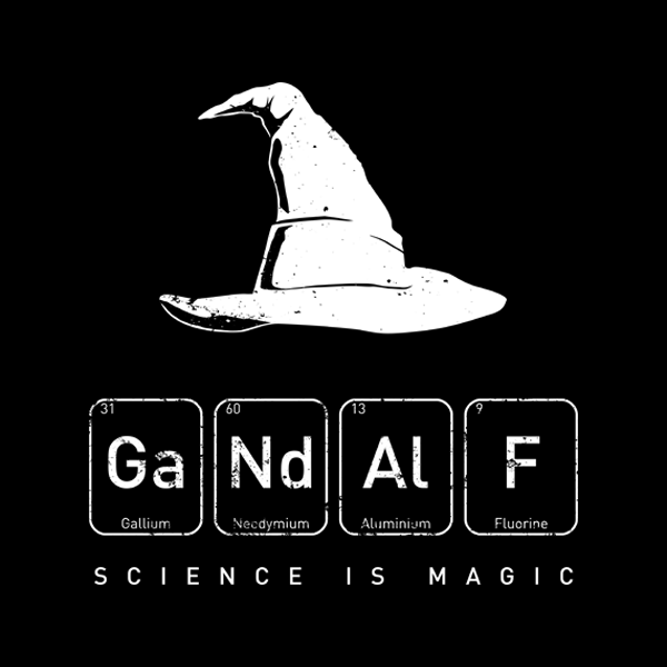 Unamee: Gandalf's Magical Science
