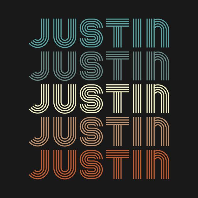 TeePublic: JUSTIN