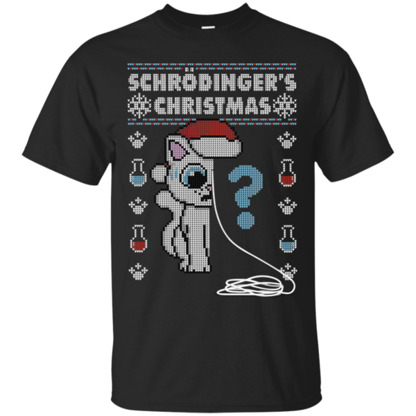 Pop-Up Tee: Schrodingers Christmas