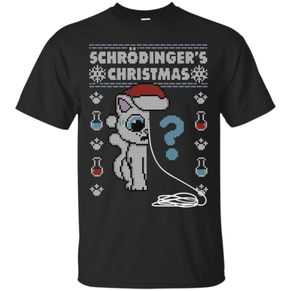 Pop-Up Tee: Schrodingers Christmas