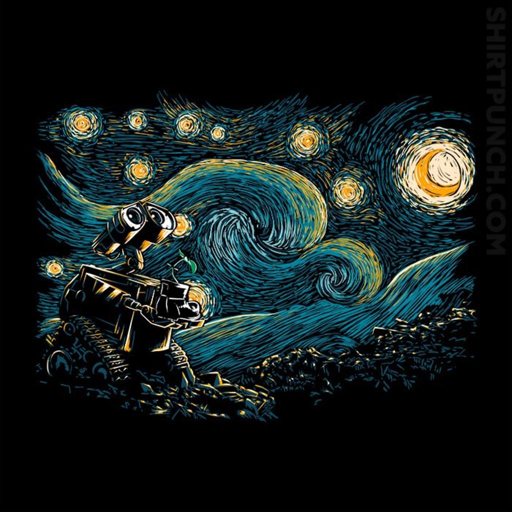 ShirtPunch: Starry Robot