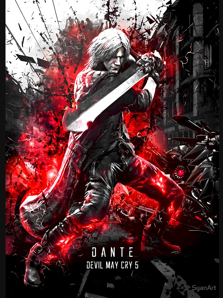 RedBubble: Devil May Cry 5 Dante
