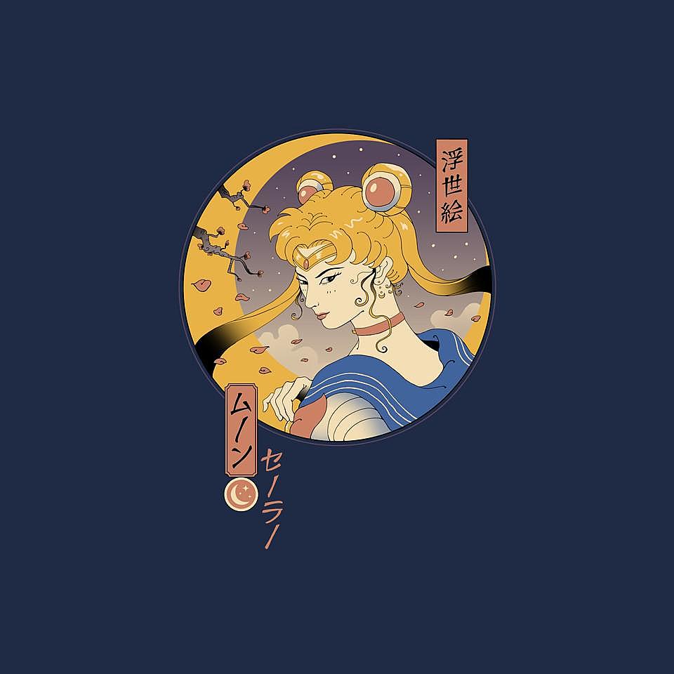 TeeFury: Sailor Ukiyo-e