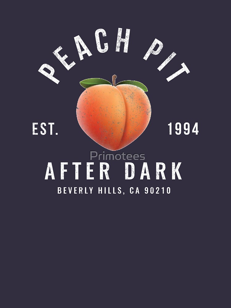 RedBubble: Peach Pit After Dark Logo