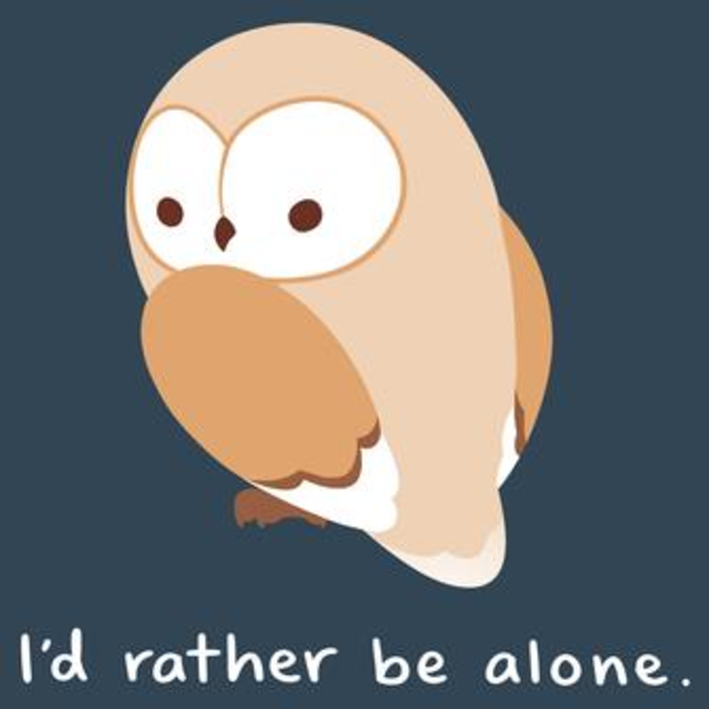 TeeTurtle: I'd Rather Be Alone