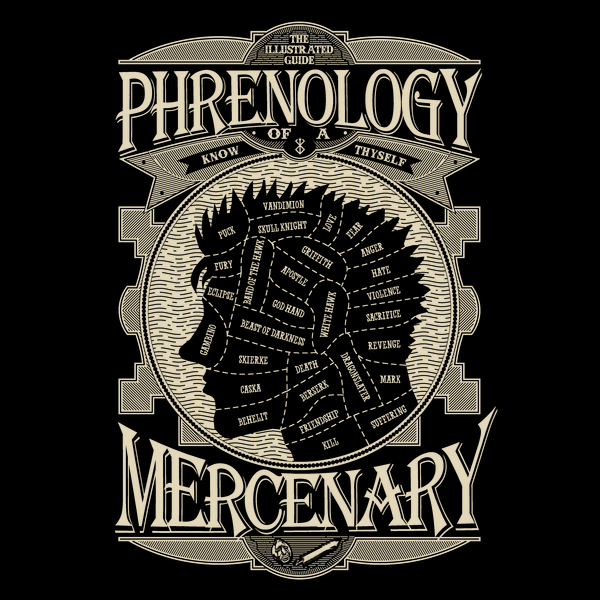 NeatoShop: Phrenology of a mercenary - Berserk