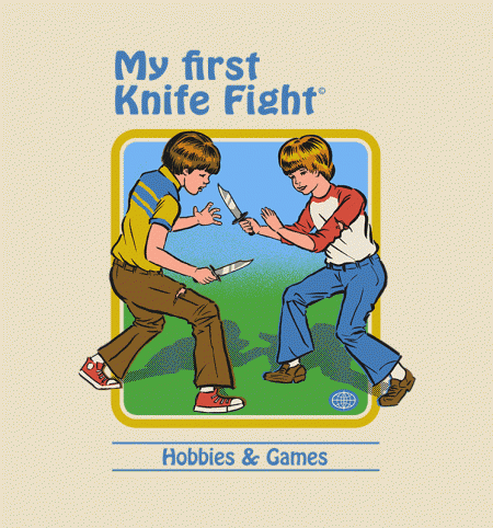 BustedTees: My First Knife Fight