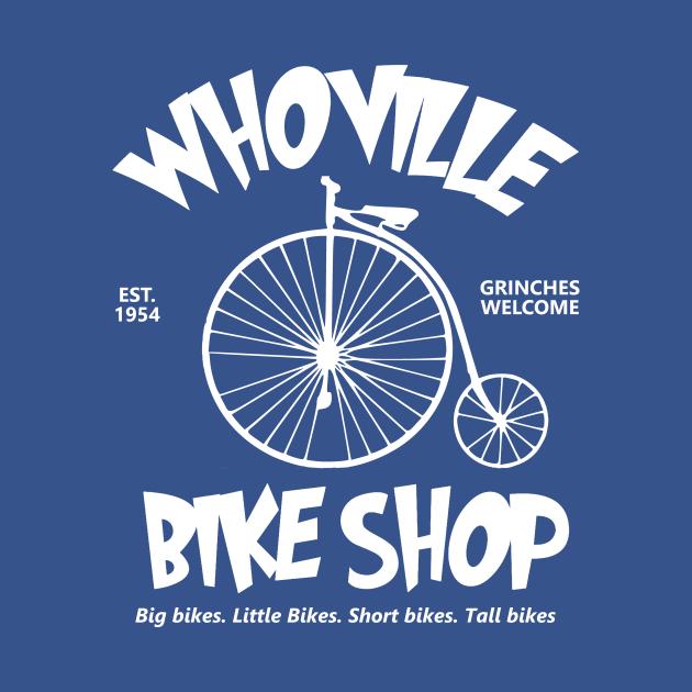 TeePublic: Whoville Bike Shop