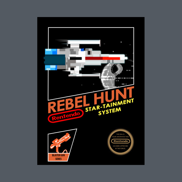 TeePublic: Rebel Hunt